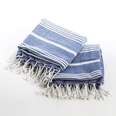 Fouta-pyyhe farkunsininen