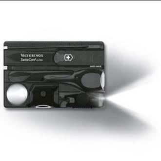 Victorinox Swisscard Lite Inox luottokorttimallinen taskuveitsi